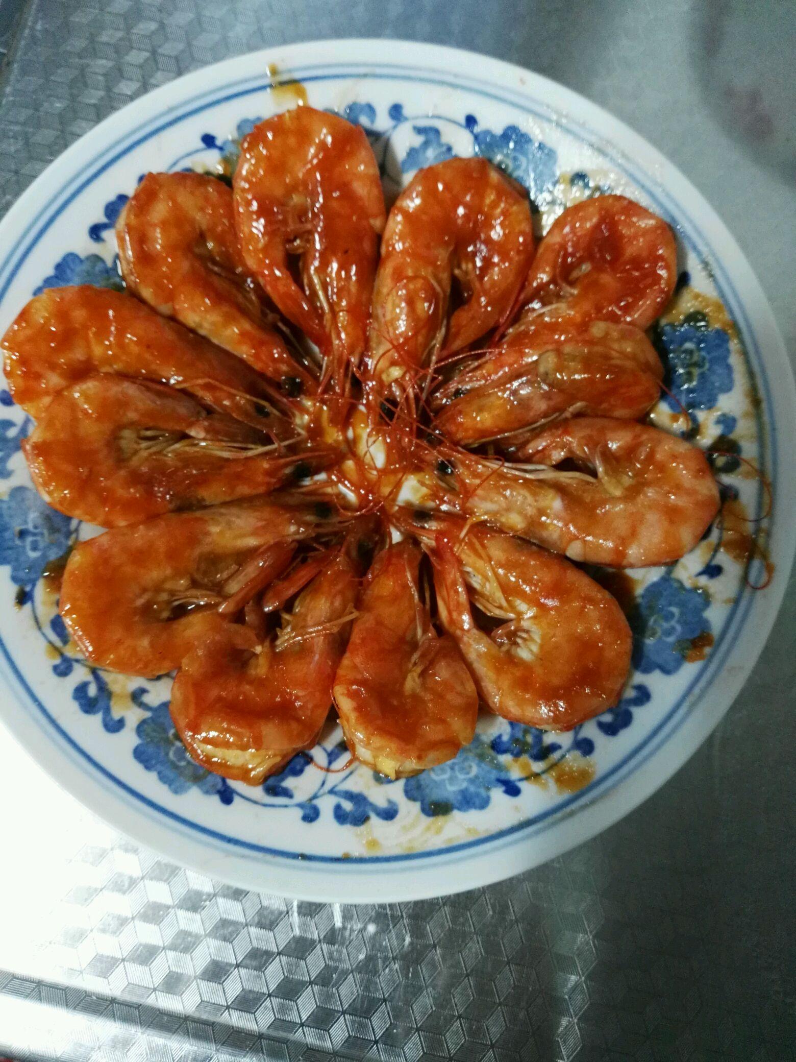 沙司脆皮虾的做法图解4