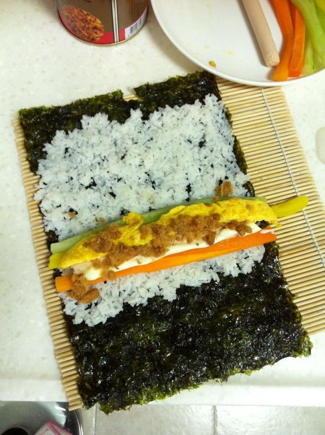 寿司卷的做法图解5