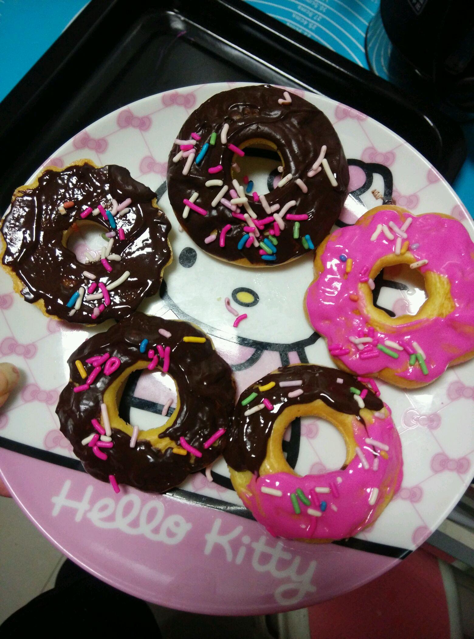 超简单甜甜圈的做法图解8