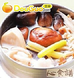 百菇什锦锅的做法