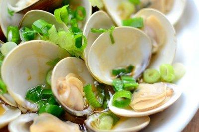 海鲜不开火做法【葱油蛤蜊】