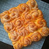 玫瑰花椰蓉面包的做法图解12