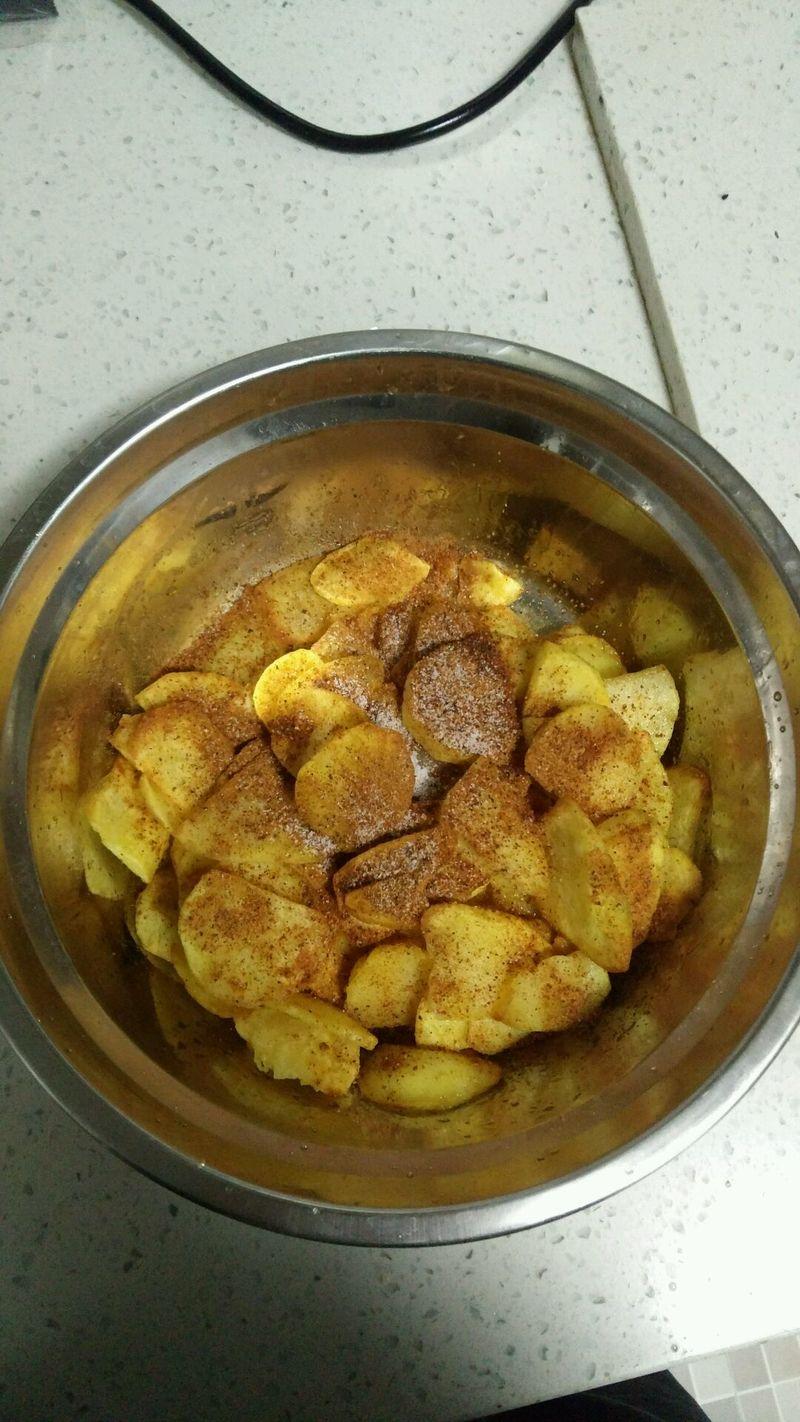 云南小吃,油炸土豆,洋芋