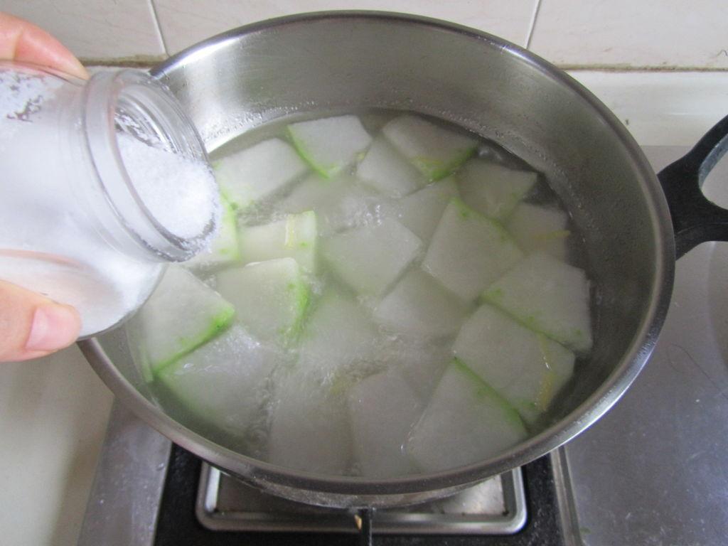 蛤蜊冬瓜汤的做法图解6