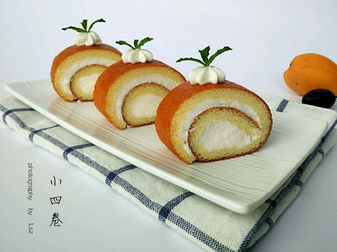 奶油蛋糕卷#豆果5周年图片