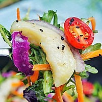 嫩煎鱼柳沙拉#丘比沙拉汁#的做法图解8