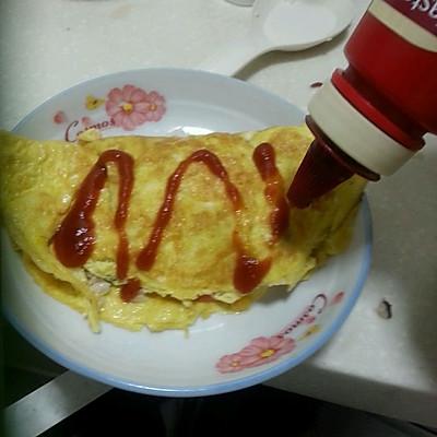 蛋包饭的做法_【图解】蛋包饭怎么做好吃_蛋包饭_家常