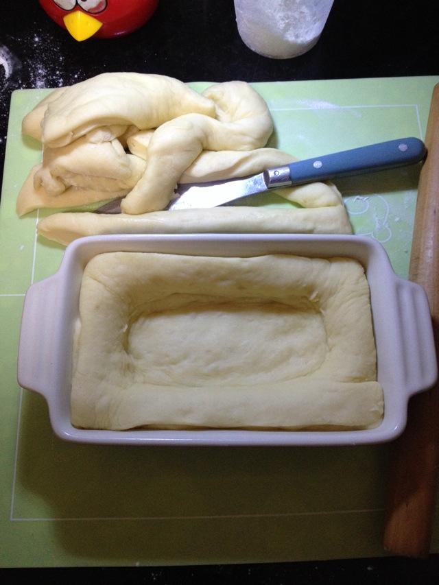 陶瓷烤盘面包的做法步骤