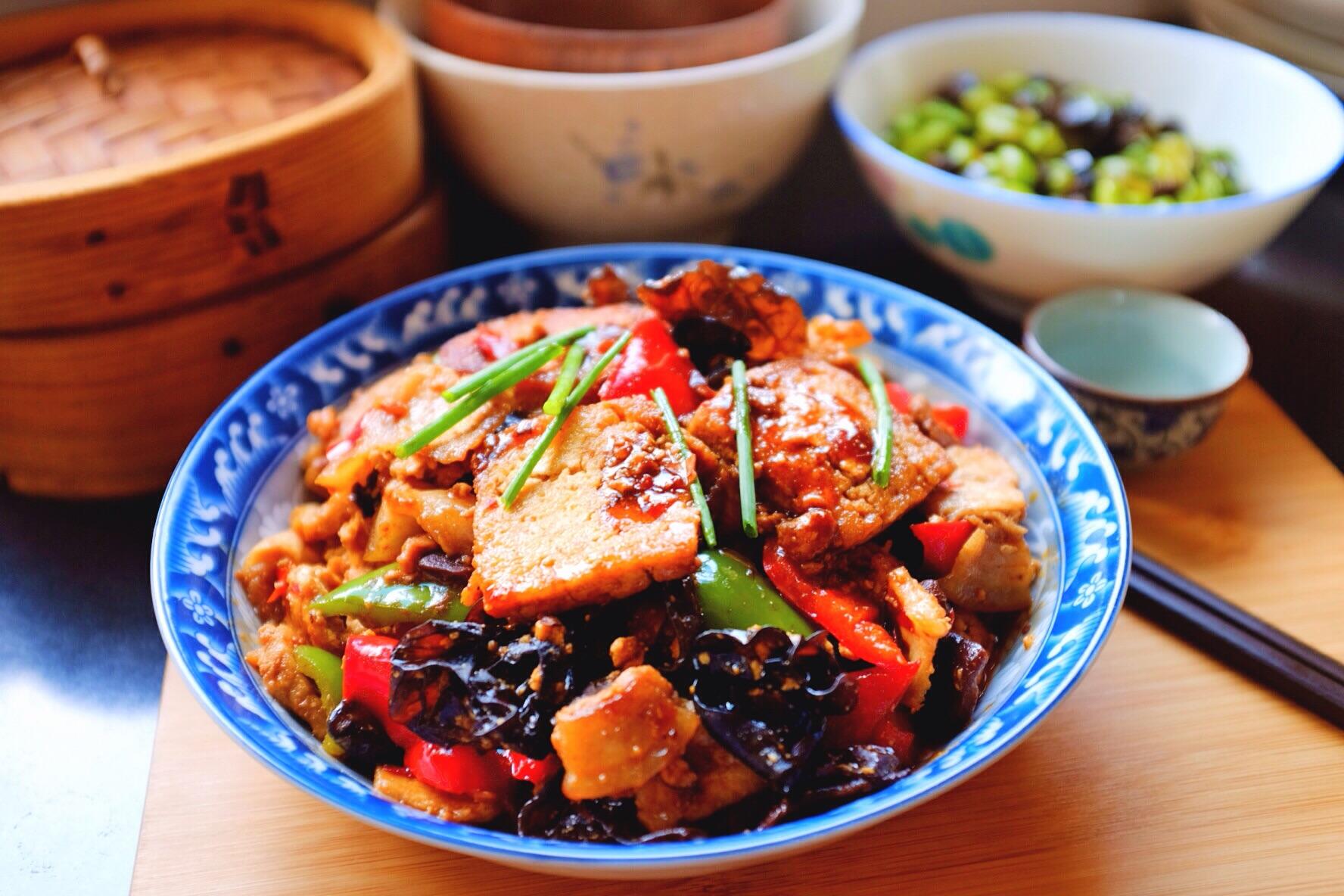 豆腐家常#我要上首页图解家常菜#的做法挑战12草鱼鱼鳔图片