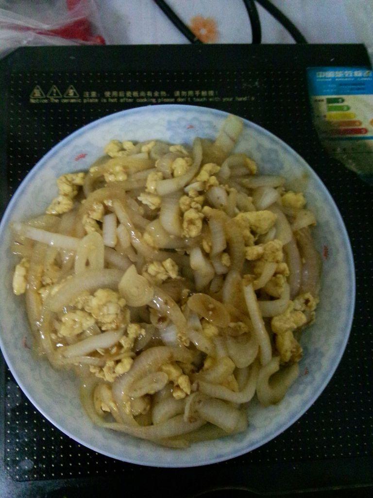 洋葱炒鸡蛋文兴米粉加盟图片