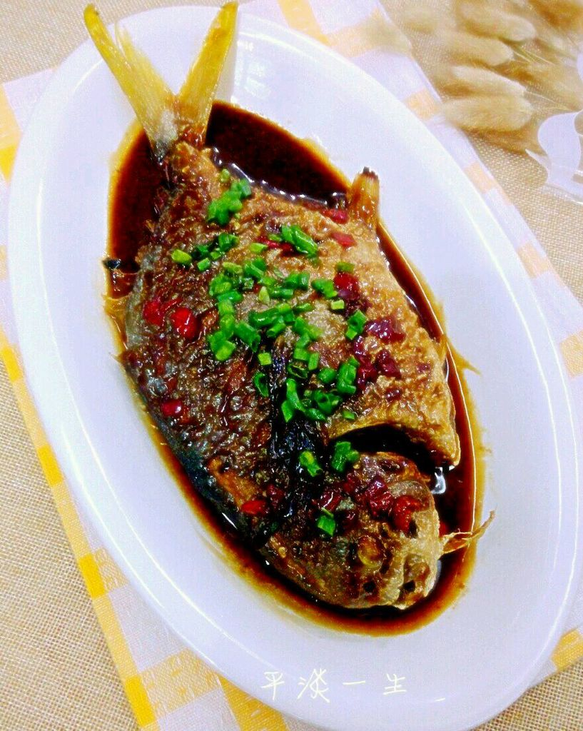 红烧金鲳鱼料酒排骨汤可以放海带吗图片