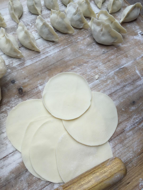 青豆肉馅饺子的做法步骤