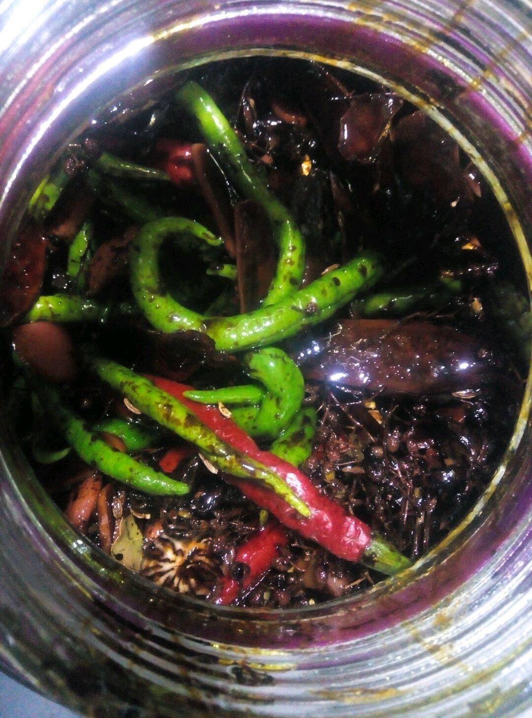腌辣椒的做法_【图解】腌辣椒怎么做如何做好吃_腌_易