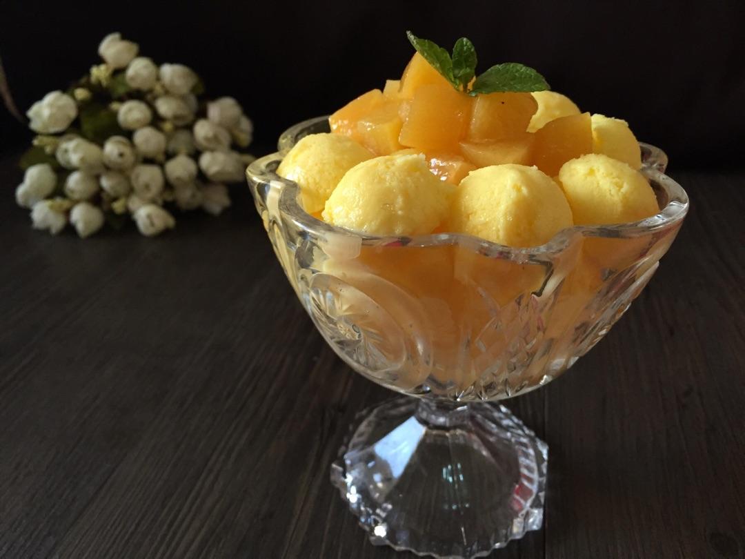 芒果冰淇淋的做法_【图解】芒果冰淇淋怎么做如何做