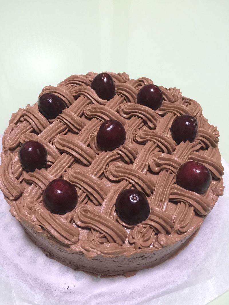 新年必备巧克力奶油蛋糕
