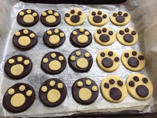 猫爪饼干的做法图解8