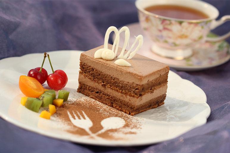 咖啡慕斯蛋糕的做法_【图解】咖啡慕斯蛋糕怎么做