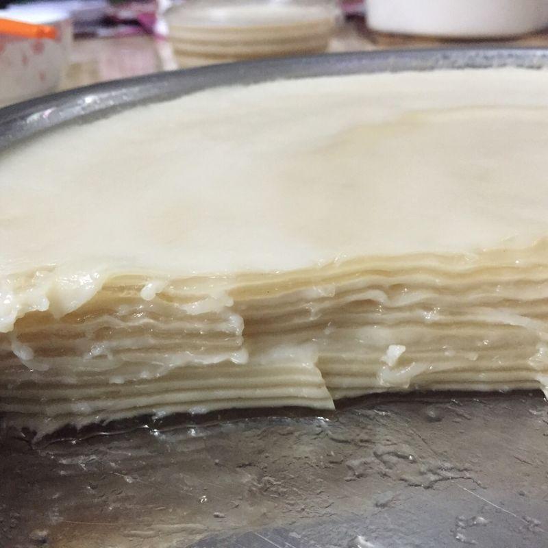 高达牌椰浆1罐 水3碗 椰汁千层马蹄糕的做法步骤        本菜谱的