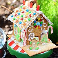 童话世界-圣诞姜饼屋和圣诞树的做法图解25