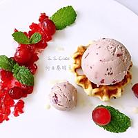 蔓越莓覆盆子冰激凌的做法图解8