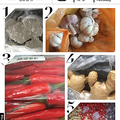 木瓜丝酱菜的做法_【图解】木瓜丝酱菜怎么做好吃