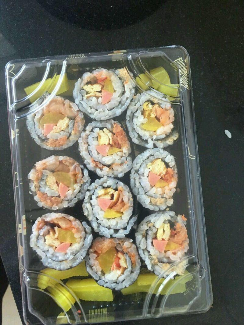 寿司卷的做法步骤