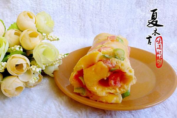 西红柿鸡蛋饼的做法_【图解】西红柿鸡蛋饼怎