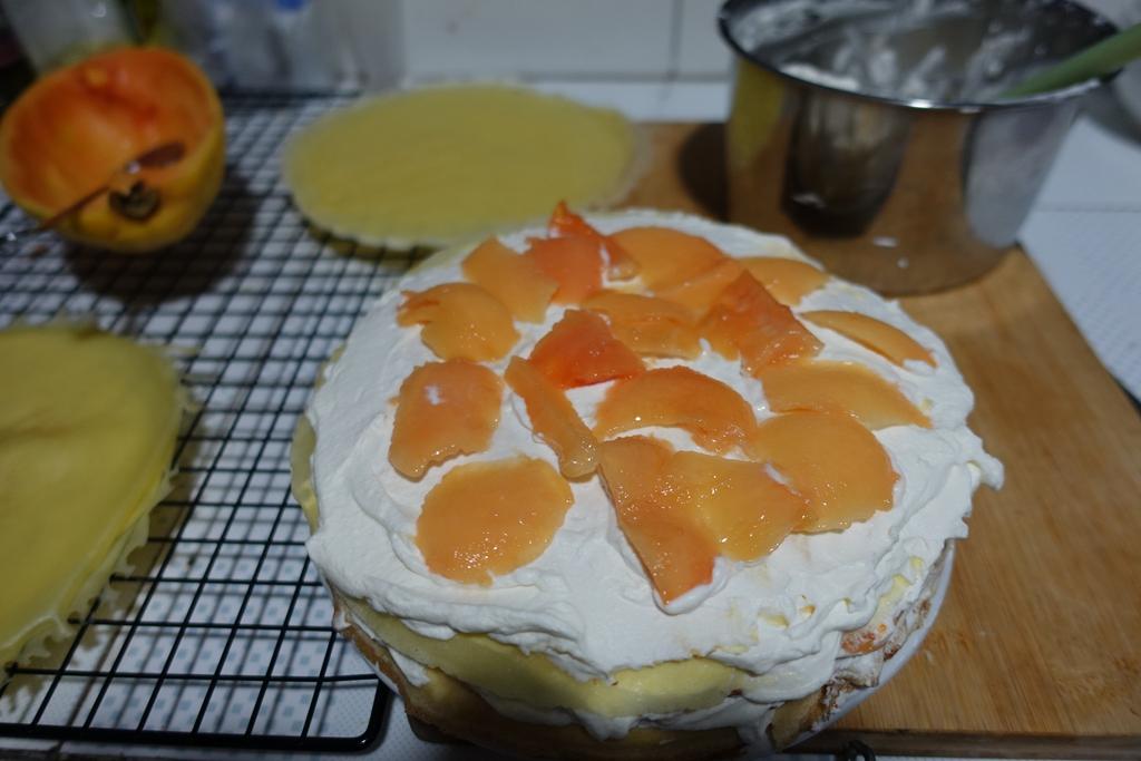 木瓜千层蛋糕的做法_【图解】木瓜千层蛋糕怎么做