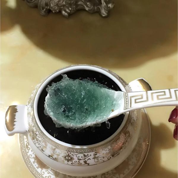 黑枸杞燕窝图片_Jayyang528的石蜂糖黑枸杞燕窝做法的学习成