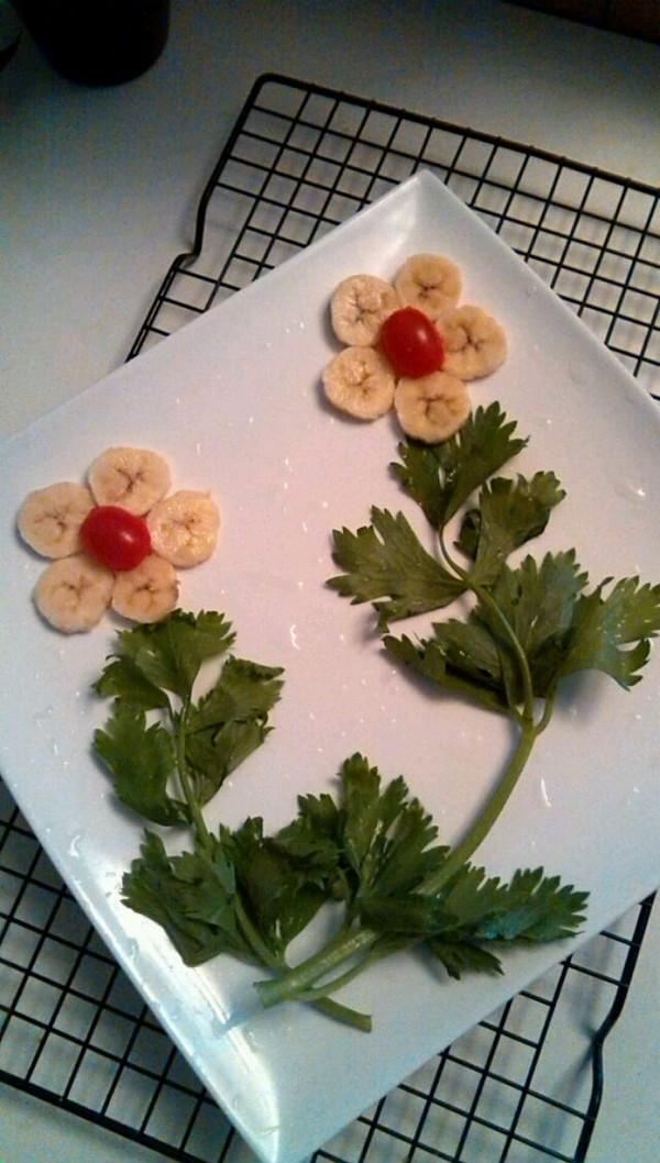 香蕉水果拼盘