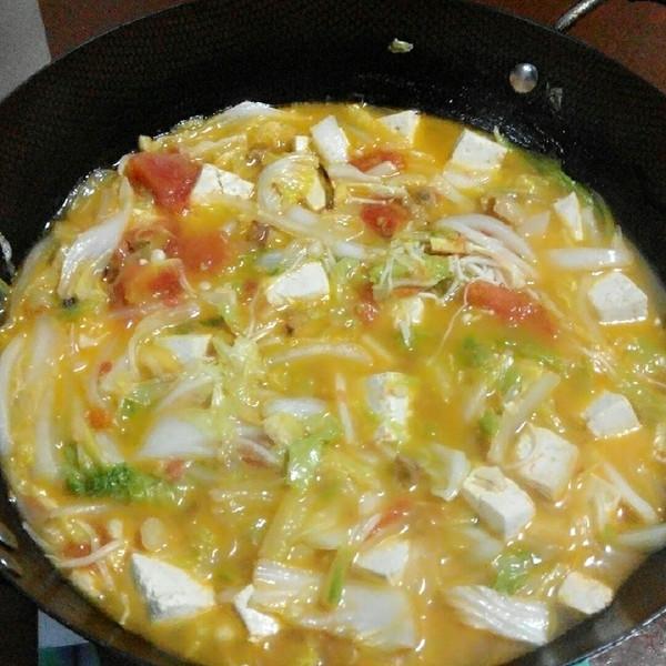 西红柿做法白菜汤的奶油豆腐动物哪个好吃图片