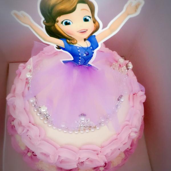 小公主苏菲亚蛋糕