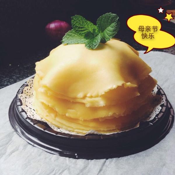 榴莲千层蛋糕(手绘涂鸦)