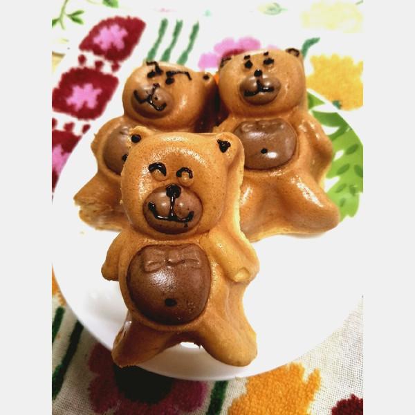 可爱的小熊蛋糕