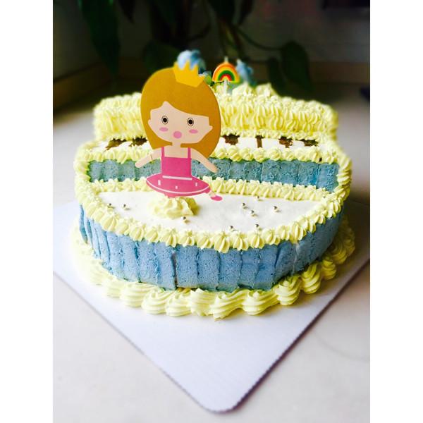 小公主的钢琴蛋糕