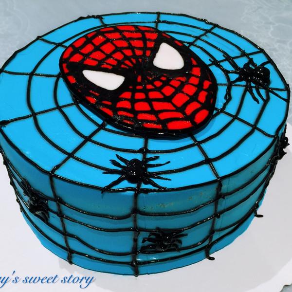 蝙蝠侠&蜘蛛侠杯子蛋糕