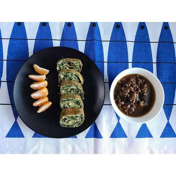 一蹦一跳的向日葵的美食海苔厚蛋烧火腿的v美食必做法去青岛图片