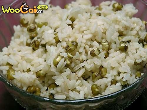 绿豆焖饭的做法
