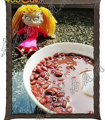大红大紫--红豆汤的做法