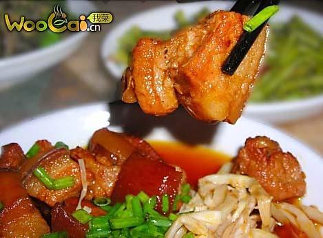 野竹笋软糯红烧肉的做法