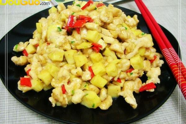 椒做法米香的笋鸡_【图解】椒小班米香做笋鸡美食节菜谱大全图片