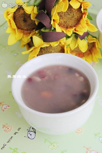 养颜红豆粥的做法步骤