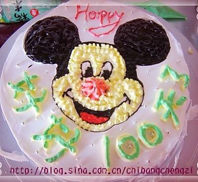可爱米奇蛋糕