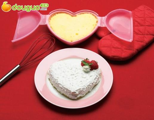 心型可爱饭盒菜谱(5)---心型蛋糕diy