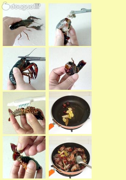 红烧小龙虾的做法步骤