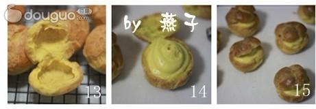 奶油泡芙的做法_【圖解】奶油泡芙怎麼做如何做好吃 ...
